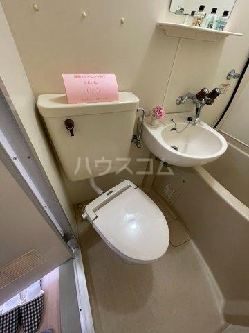 稲荷台ハイツ 103号室のトイレ