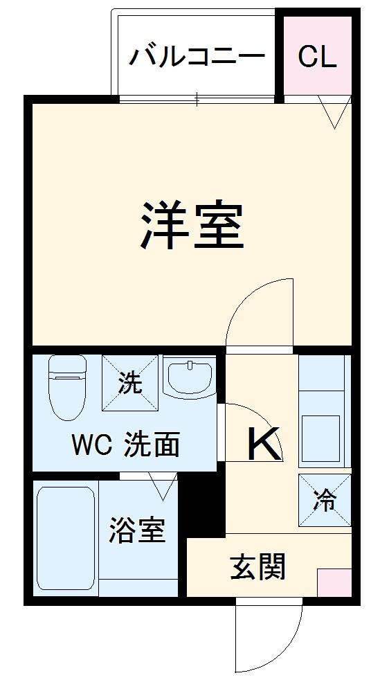 サンマルスラン大和田・103号室の間取り