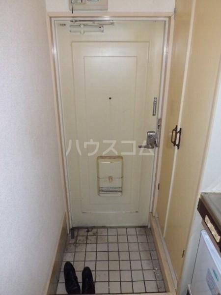 桜コーポ第2 105号室の玄関