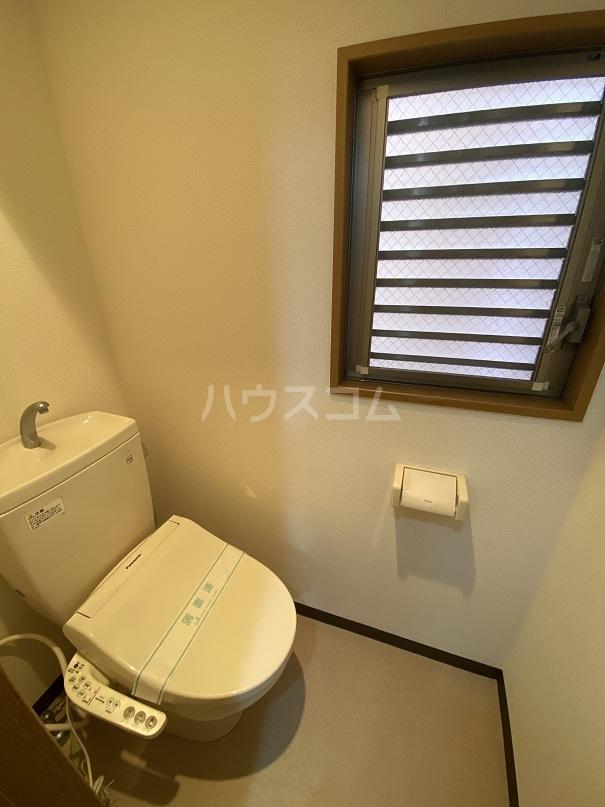 サンコート高砂 103号室のトイレ