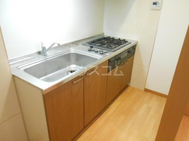 やなぎパークマンション 2A号室のキッチン