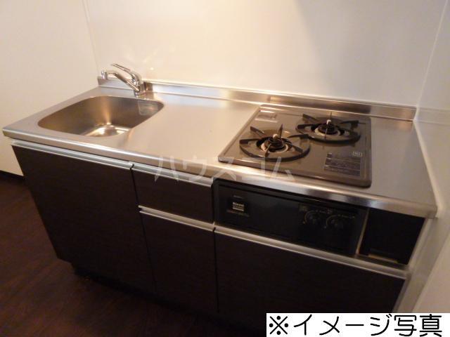 Brio 105号室のキッチン