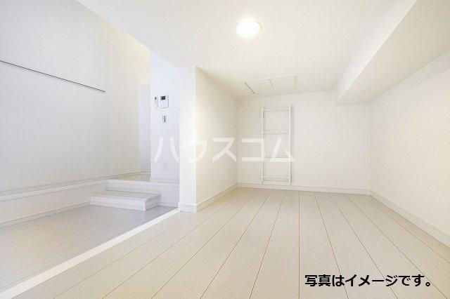Brio 105号室のベッドルーム