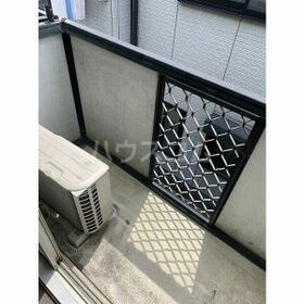 パレス桜第6 102号室のバルコニー