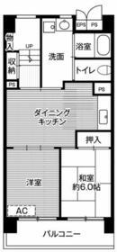 ビレッジハウス成田吾妻1号棟・116号室の間取り