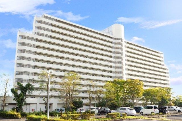 ビレッジハウス成田吾妻1号棟の外観