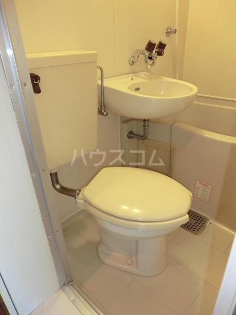 パレス笠寺 101号室のトイレ
