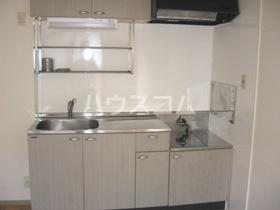 サニーコートB棟 202号室のキッチン