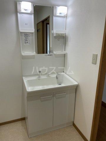 ガーデンヒルズ光 503号室の洗面所