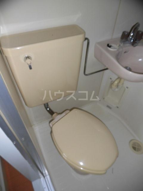ユースハイム 301号室のトイレ
