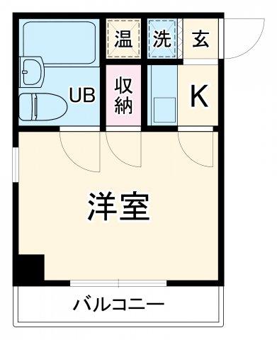 エスト太閤・4C号室の間取り