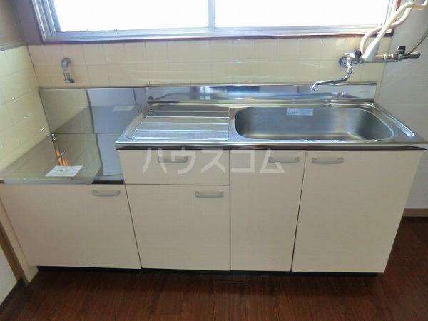 大平マンション 415号室のキッチン