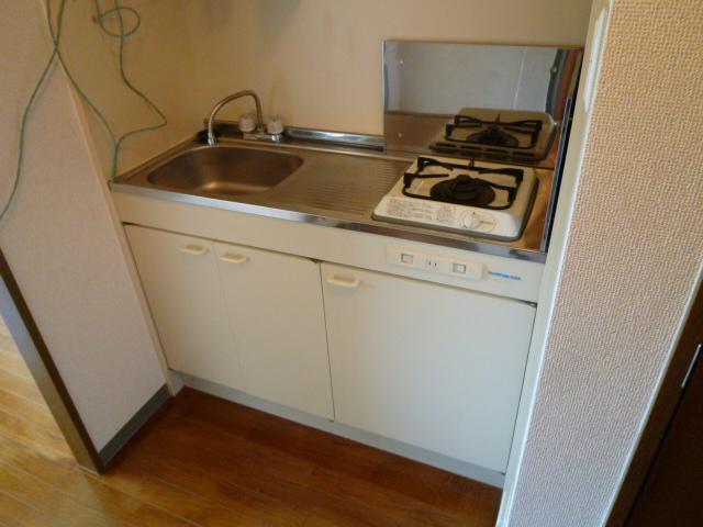 SEAN 3C号室のキッチン