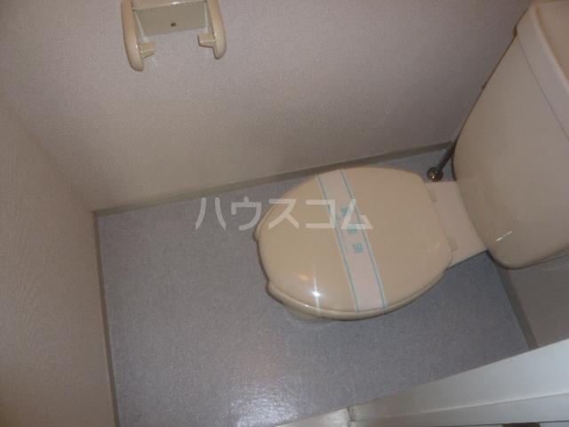 グレースタウンB 302号室のトイレ