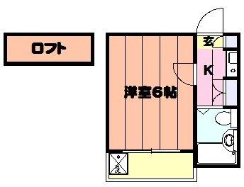 K・柴又・209号室の間取り