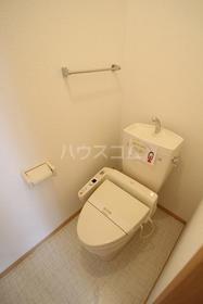 RoseCourt笹ヶ根 201号室のトイレ