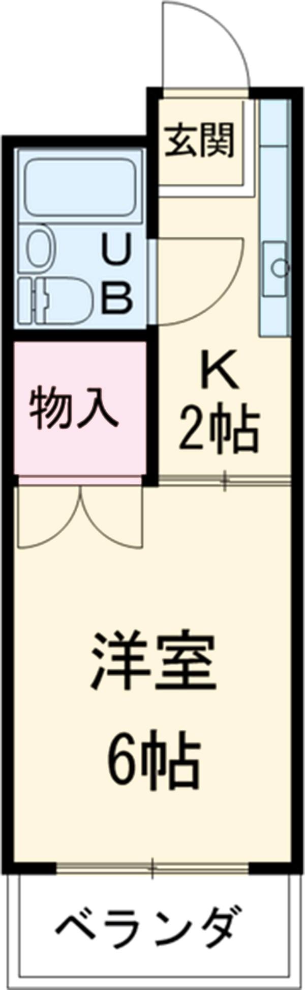 リバーサイド成栄南・310号室の間取り