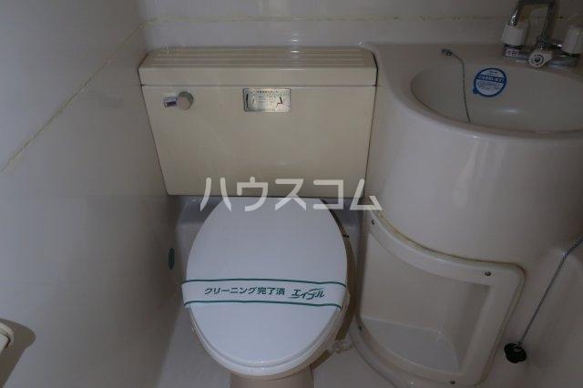 カンテ金山 307号室のトイレ