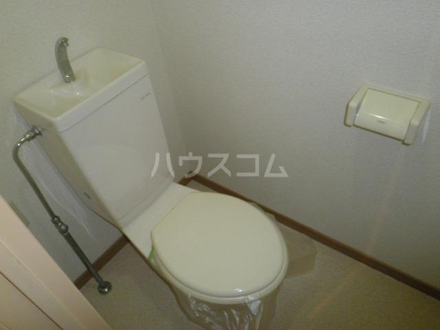 ライフピット八田 2B号室のトイレ