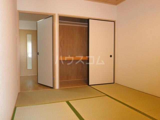 ライフピット八田 2B号室のベッドルーム