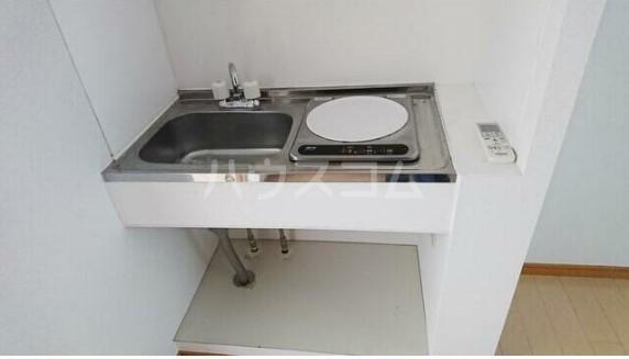 レグルス清新 201号室のキッチン