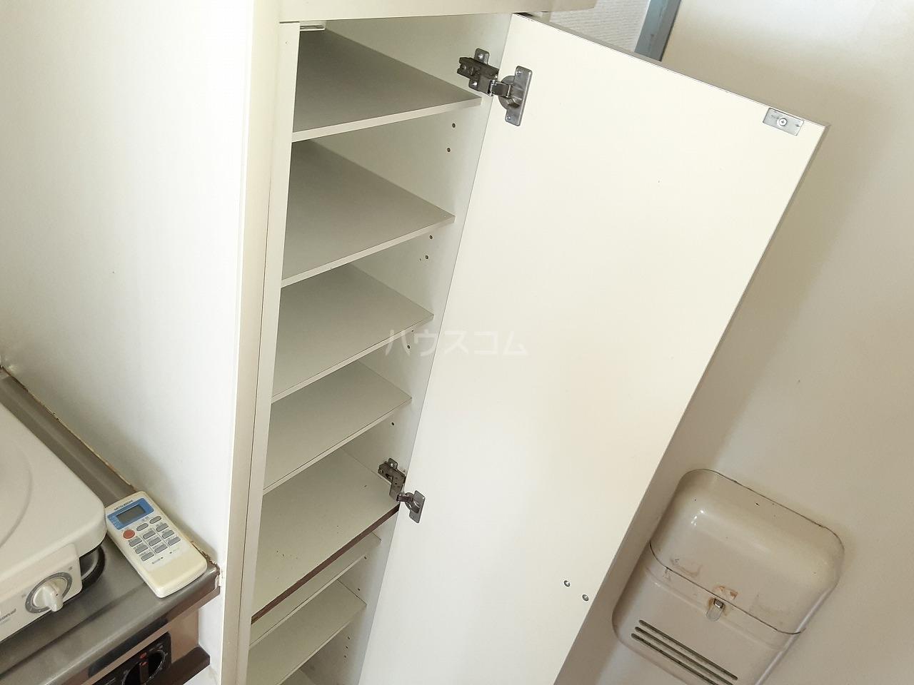 プレスイン城下 2A号室の洗面所