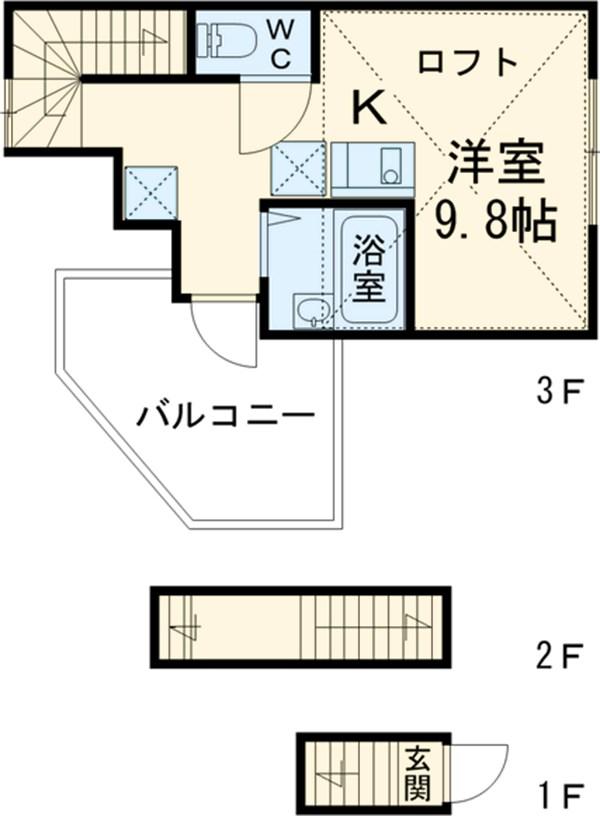 PMA綾瀬壱番館・301号室の間取り
