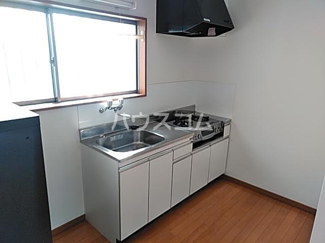 スカイハイツ 205号室のキッチン