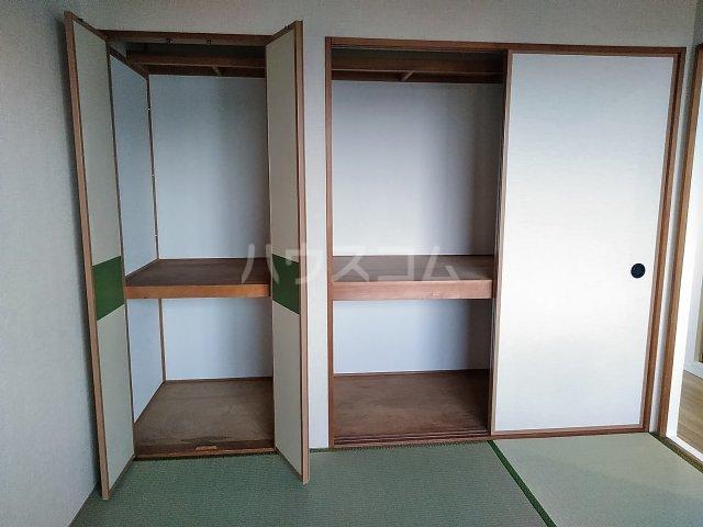 スリーオーハイツ 201号室のバルコニー