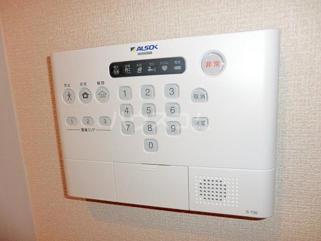 ルミエール 102号室のセキュリティ