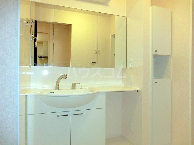 ルミエール 102号室の洗面所