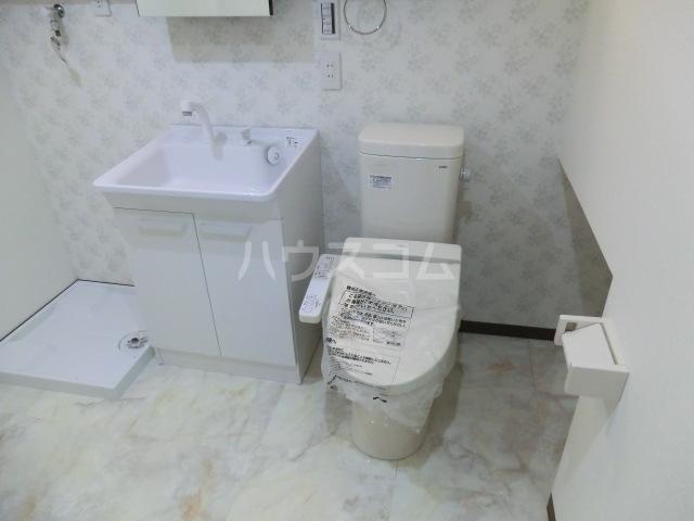 ヴィラ アメリアのトイレ