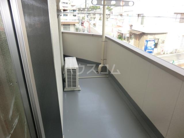 喜多山ビル 302号室のバルコニー