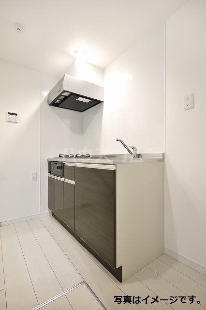 ブドワール塩池 202号室のキッチン