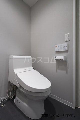 ブドワール塩池 202号室のトイレ