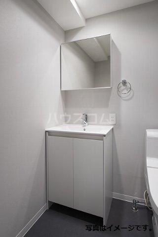 ブドワール塩池 202号室の洗面所