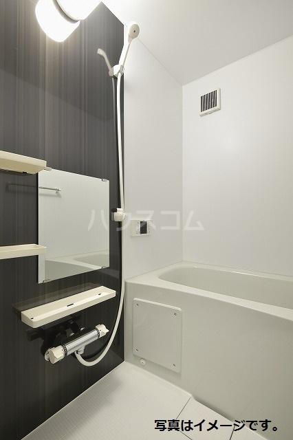 ブドワール塩池 205号室の風呂