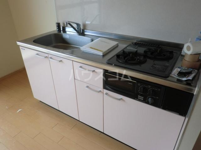 ハピネスTommyⅡ 305号室のキッチン