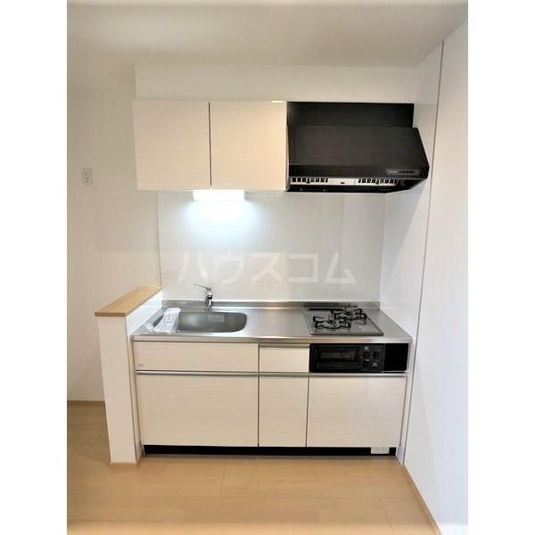 REGALESTリバーサイド新富 102号室のキッチン