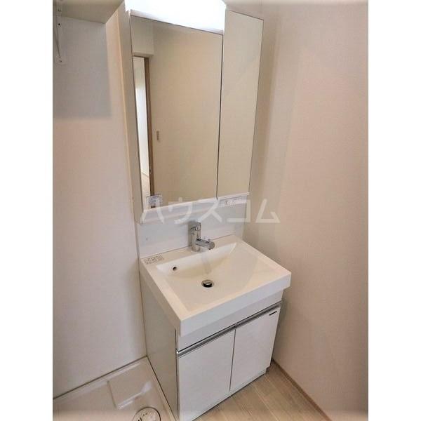 REGALESTリバーサイド新富 102号室の洗面所