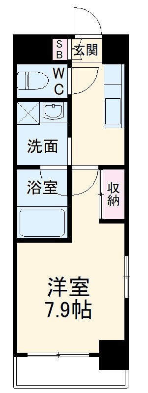 S-FORT熱田六番・305号室の間取り