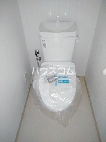 ベルルージュ中村公園 205号室のトイレ