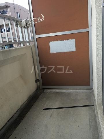 サンシャイン富士パート1 104号室のバルコニー