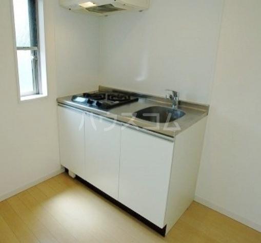 Lea吉塚 101号室のキッチン