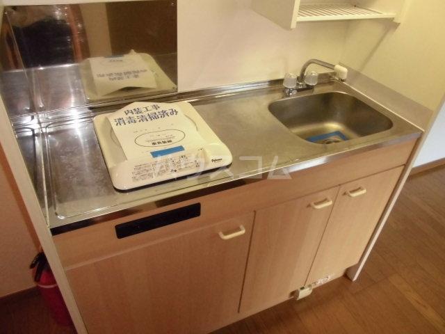 フィオーレ箱崎 201号室のキッチン