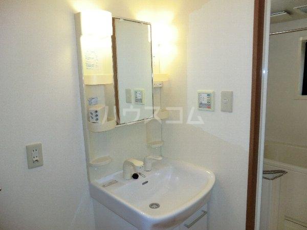 ハイネス・サンⅡ 2A号室の洗面所