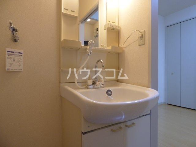 パストラルA 102号室の洗面所
