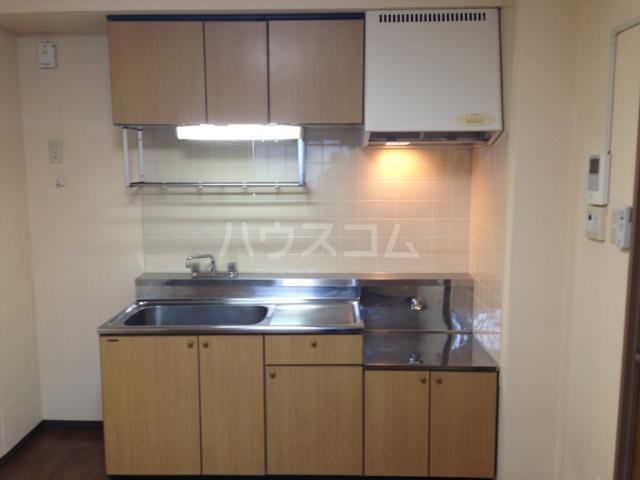 グレース八田 402号室のキッチン