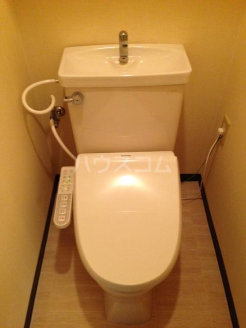 グレース八田 402号室のトイレ