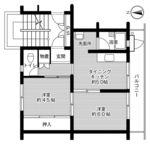 ビレッジハウス大須賀2号棟・303号室の間取り